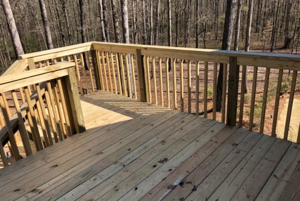 Deck and Railing